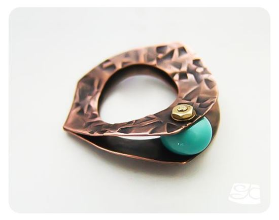 "Picture of ""Clam"" Ring DIY Tutorial"