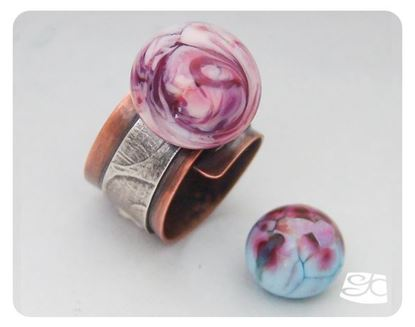 Picture of Screw-on Interchangeable Cabochon Ring DIY Tutorial