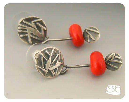 Fused Silver Stud Earrings DIY Tutorial