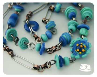 Picture of Chain I: Blue DIY Tutorial
