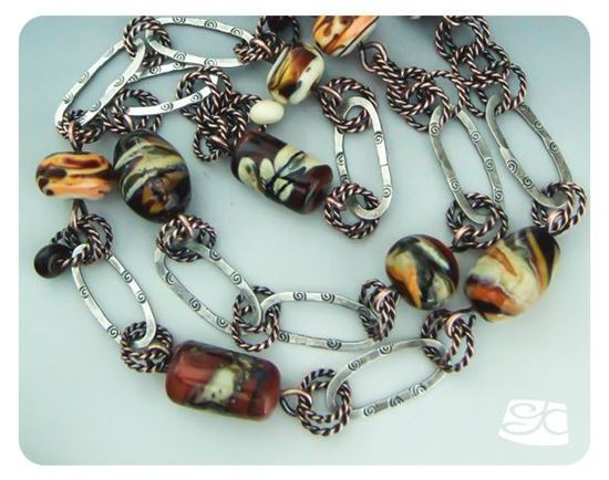 Picture of Chain II: Earth Tone Orphans DIY Tutorial