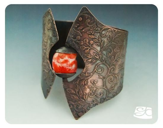 Picture of Etched Cuff with Bead DIY Tutorial