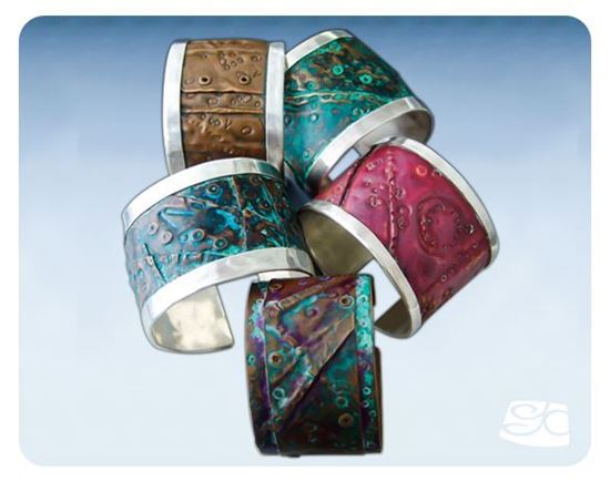 Picture of Sterling  Silver Cuff DIY Tutorial