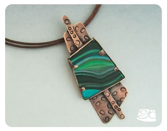 Picture of Polymer And Copper Pendant DIY Tutorial